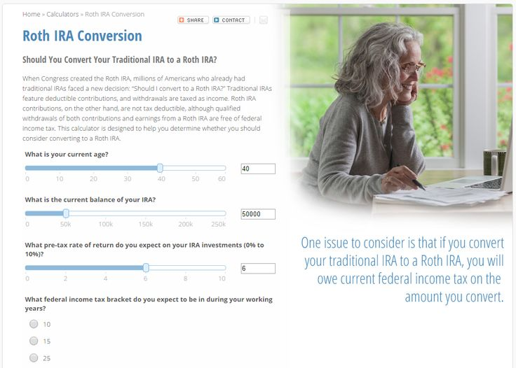 Roth IRA Conversion: Should You Convert Your Traditional IRA to a Roth IRA? www.wealthmg.com