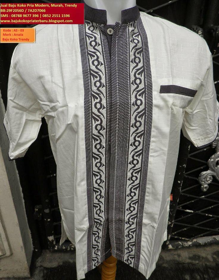 Jual Baju Koko Pria Modern Murah Trendy, BB :29F2056D | 7A2D7066 |SMS:08788-9677-396 | 0852-25511596: Baju Koko Pria Trendy ( AS-03 ) Warna Putih Corak ...
