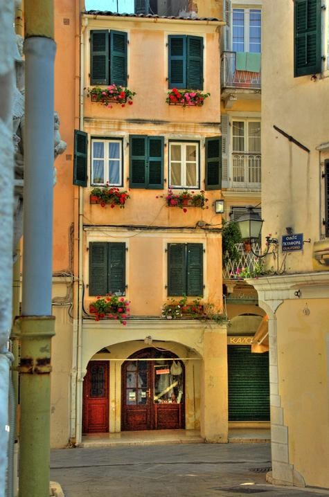 "VISIT GREECE| In the beautifully preserved Old Town of #Corfu, a UNESCO world heritage site, Renaissance, Baroque and Classical ""repertoire"" came to be successfully applied to local artistic traditions."