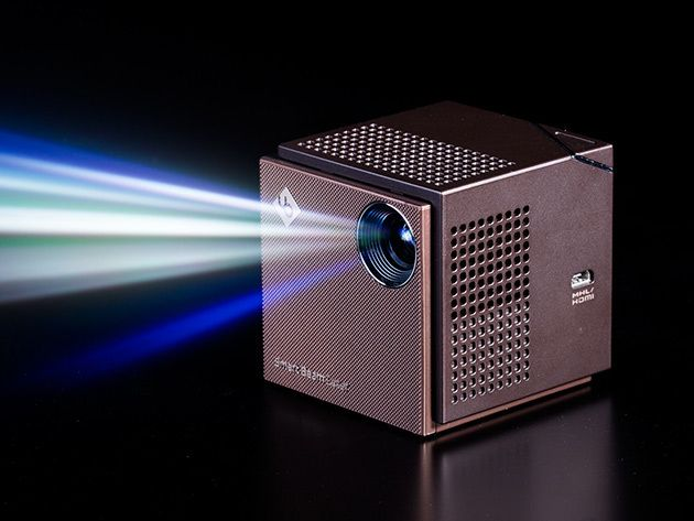 Smart Beam Laser Projector & Accessory Set: Small Device, Mighty Projector: Plug In to Watch Anything on the Big Screen