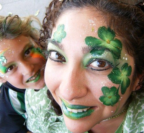 18 best st patrick 39 s day facepaint images on pinterest for Face painting business