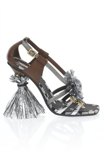 Heel with Fringe - MJ16136 - Marc Jacobs - Womens - Shoes - Marc J