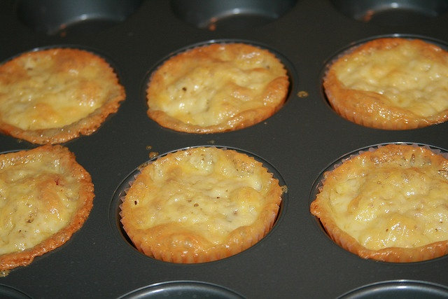 Low-Carb Bacon Egg & Cheese Muffins by cheeseslave, via Flickr