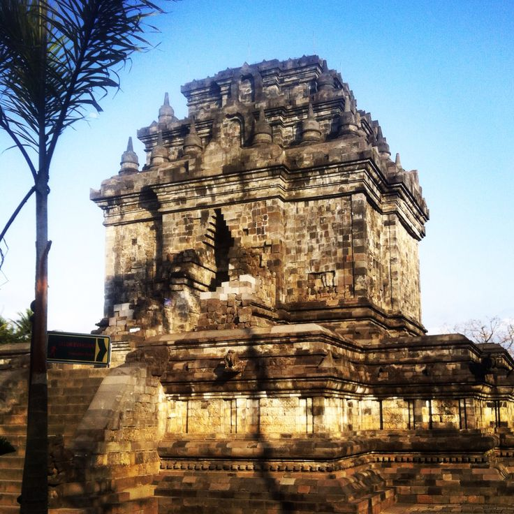 Mendut Buddhist temple in Central Java