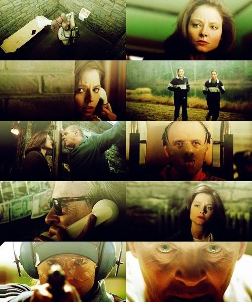 Dr. Hannibal Lecter and Special Agent Clarice Starling