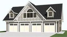 25 best ideas about garage plans with loft on pinterest for 4 car garage with apartment above