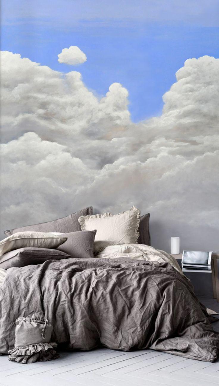 τοιχογραφία με ακρυλικά για master bedroom