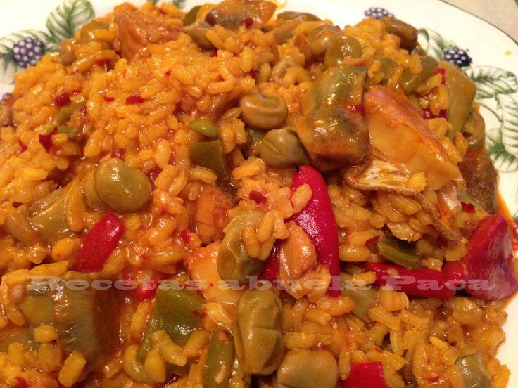 arroz con bacalao blog