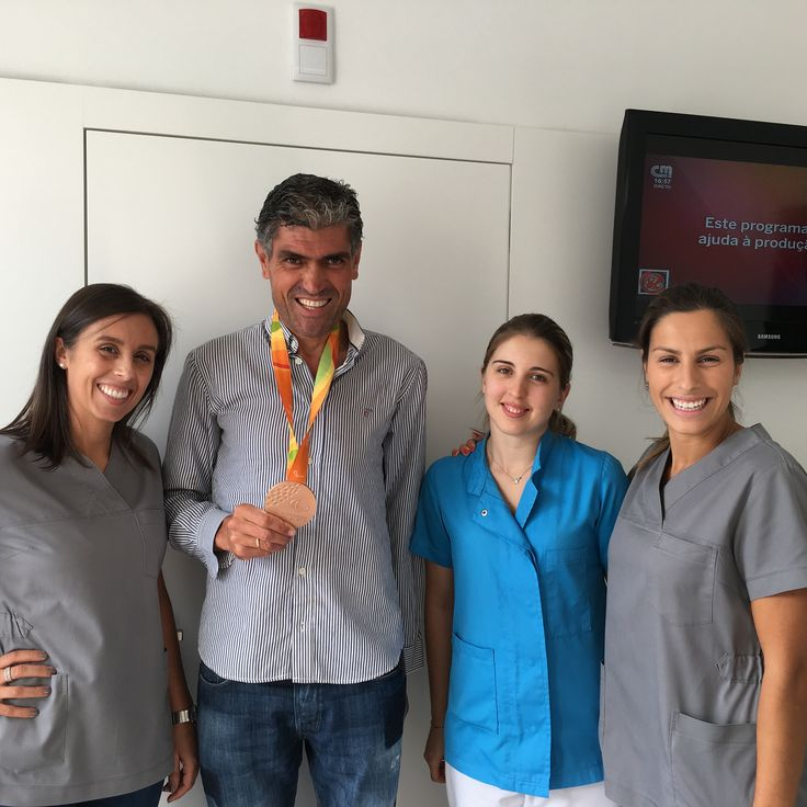Medalha de Bronze | Manuel Mendes | Jogos Paralimpicos Brasil 2016 | Clinica Dentaria Pedral | Dra Sonia Ribeiro | Dra Joana Monteiro