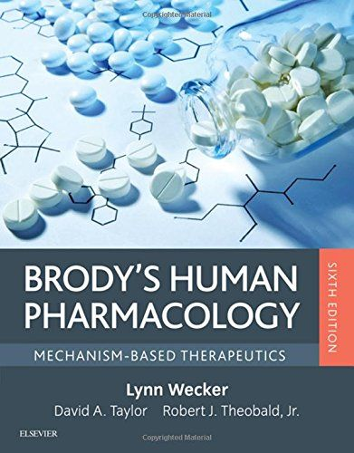 Brody S Human Pharmacology Mechanism Based Therapeutics 6th Edition