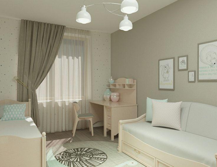 Дизайн-проект детской комнаты Архитектор-дизайнер Ващенко Юлия