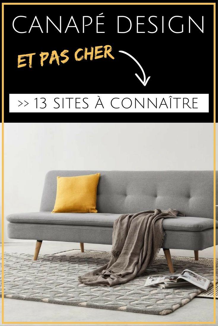 Vous cherchez un canapé design mais vous avez un petit budget ? Avez-vous déjà visité ces 13 sites ? Découvrez des boutiques en ligne pour acheter un canapé design pas cher ! #IKEA #CANAPE #DESIGN #DECORATION #MEUBLES #MOBILIER #ASTUCES