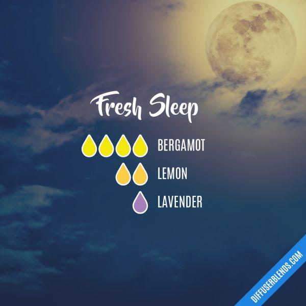 Fresh Sleep - Essential Oil Diffuser Blend