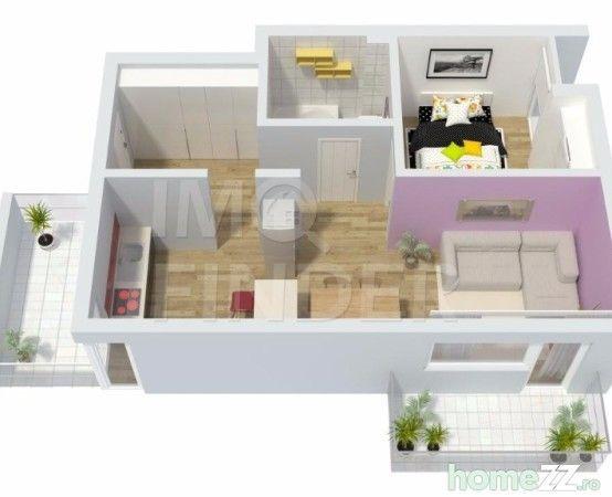 IMOFINDER va propune la vanzare un nou proiect imobiliar cu 1, 2 si 3 camere situat in Grigorescu, zona capat Donath. Zona in care se construieste este una aerisita cu mult spatiu verde si va cuprinde 7 imobile. Ansamblul va dispune de spatii comerciale, parc si loc de joaca pentru copii. Apartamentele de 2 camere au suprafete cuprinse intre 42 si 65 mp + balcon Acestea se vor preda semifinisate cu centrala termica proprie, peretii in lavabil alb, sapa autonivelanta, instalatii trase si…