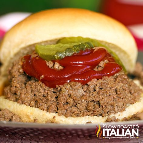 The classic Maid-Rite is a loose meat sandwich made with perfectly seasoned, tender slow-cooked ground beef served on a warm slightly sweetened bun. We have tried to replicate it for years and at long last, we have the perfect crock pot recipe and it is one to keep!