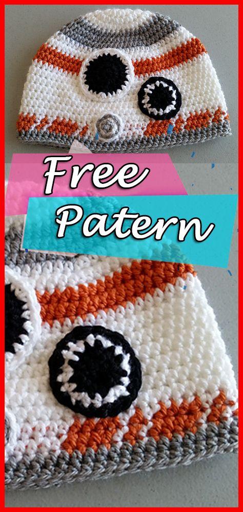 1e765d03b1a BB8 Beanie – Crochet Star Wars Pattern Free Hat