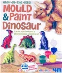Κατασκευάστε μαγνητάκια και καρφίτσες με δεινόσαυρους. Χρωμάτισε τους δεινόσαυρους με δικά σου σχέδια ή σύμφωνα με τις οδηγίες και διακόσμησε το ψυγείο και το δωμάτιό σου. Ηλικία 5-7