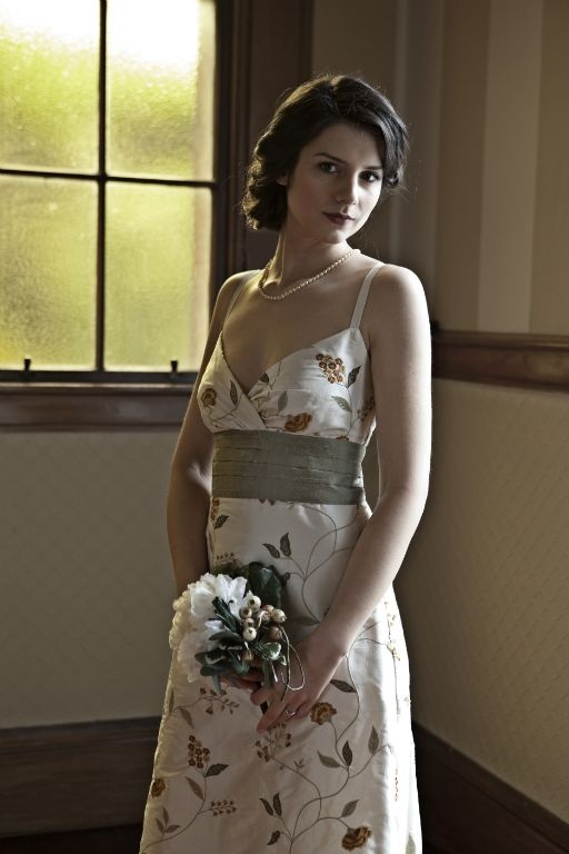 not your traditional wedding dress... but lovely all the same! Sophie Voon. Cambodian Silk, ethically sourced, gorgeous!