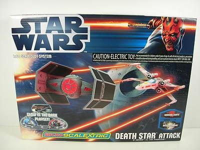 Micro Scalextric Death Star Attack Star Wars Set G1084 SCG1084T | eBay