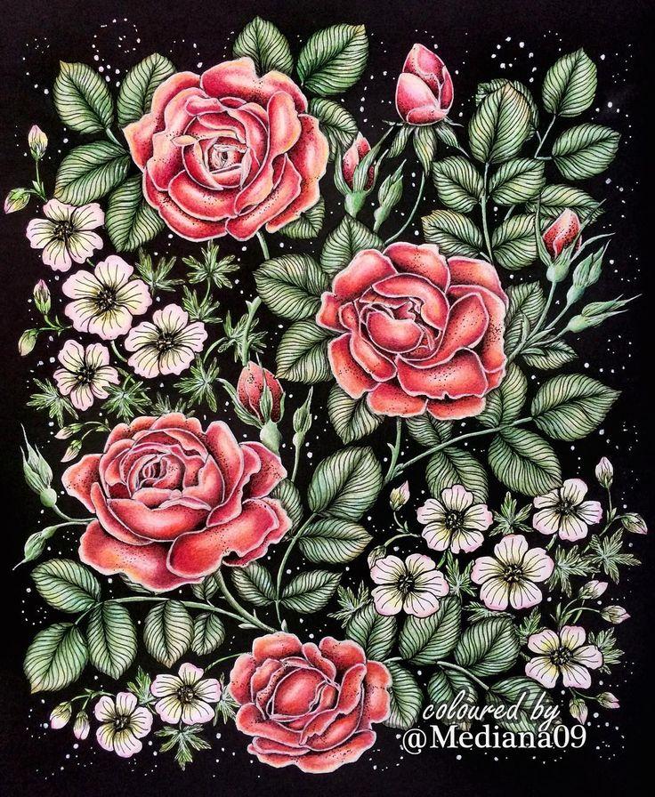 47 Best Blomstermandala Images On Pinterest