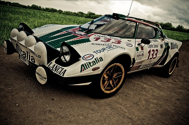 Lancia Stratos, one of the great rally cars    by Christophe Le Tellier, via Flickr