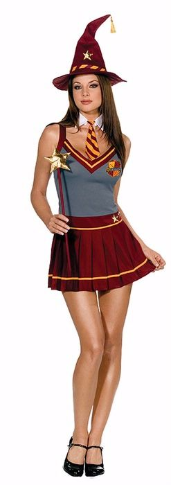 Wizard Academy School Girl Costume Women s Sexy Harry Potter Costume Costumes Inc - Stylehive