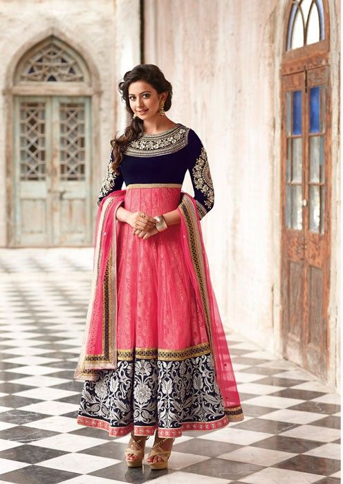 Anarkali dresses latest designs images