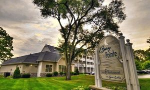 Groupon - 2-Night Stay with Optional Romance or Casino Package at Bay Pointe Inn in Shelbyville, MI. Five Options Available. in Gun Lake, MI. Groupon deal price: $109