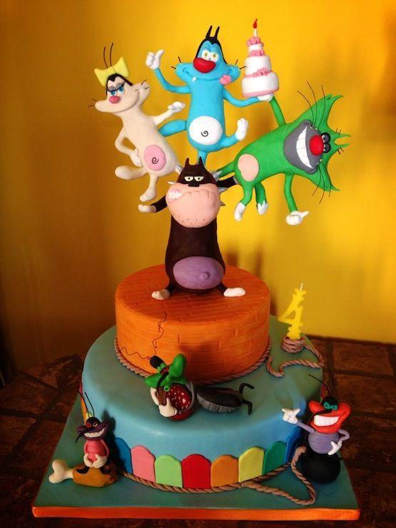 torta oggy e i maledetti scarafaggi - Cerca con Google