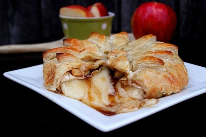 Big Bear's Wife {Recipes that are Angie Tested and BigBear Approved!}: Brown Sugar Apple Brie in Puffed Pastry