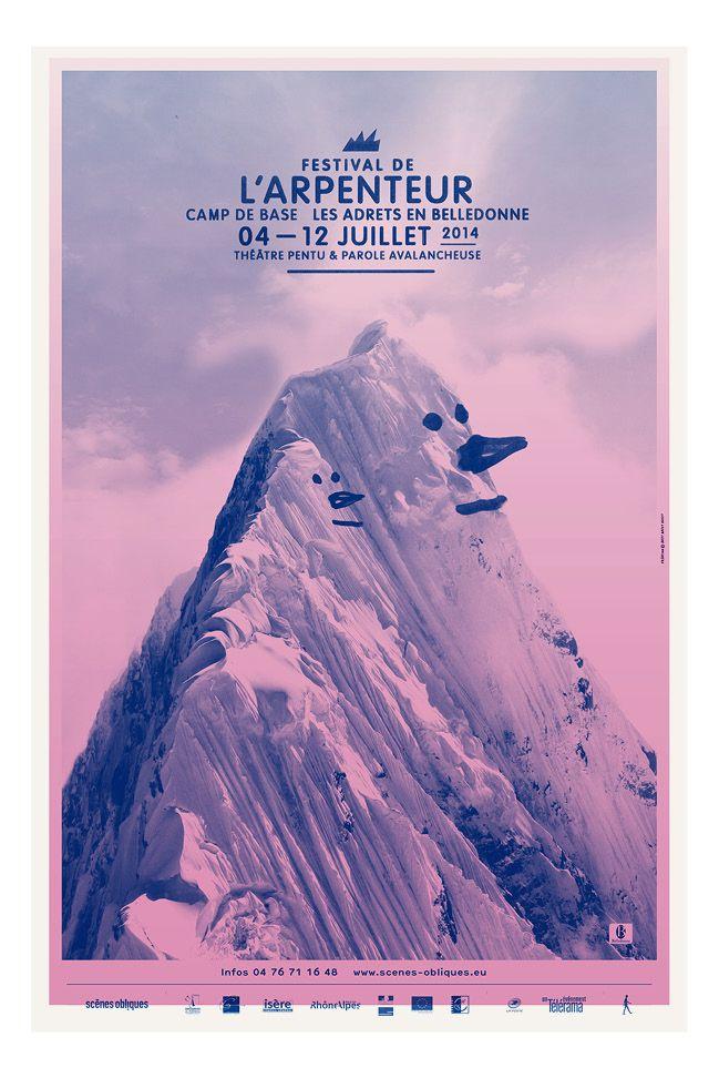 Festival de l'Arpenteur 2014 (Affiche par Brest Brest Brest)