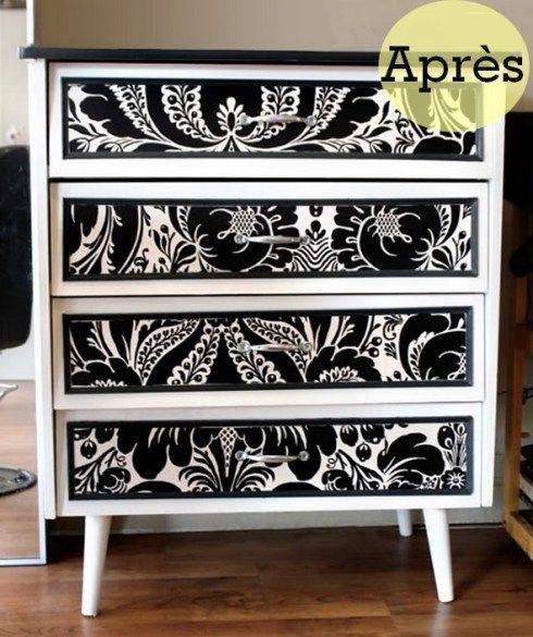 Les meilleures id es concernant peindre meuble m lamin for Peindre un meuble cire