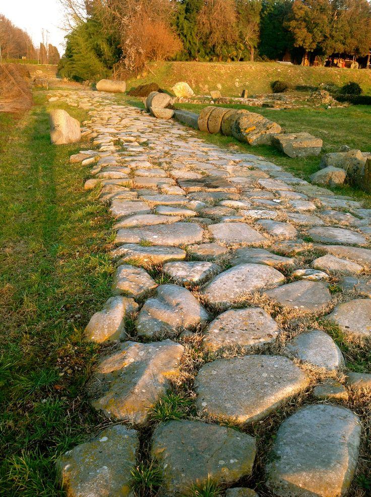 Antica Strada Romana, Aquileia Udine.