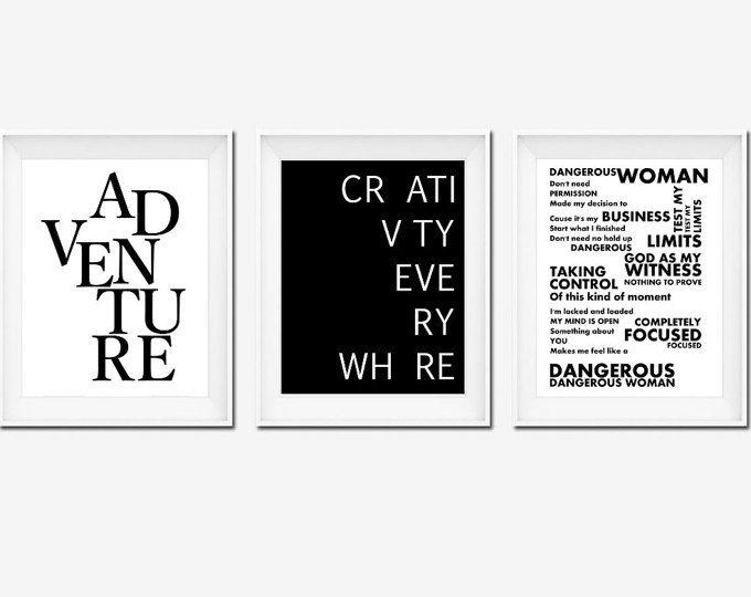 Arte de pared póster de Ariana Grande, Ariana Grande impresión, impresiones, impresión Multi, de último minuto en impresiones, impresión minimalista, arte imprimible, signo de oficina
