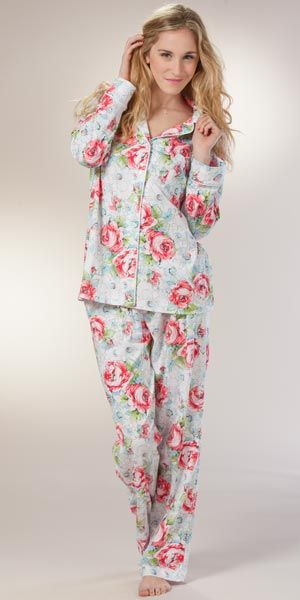 Incredibly soft women's pajama sets made with the same soft Pima cotton used in high-end pajamas for newborns. Available in sizes S-XXL and tall sizes too.
