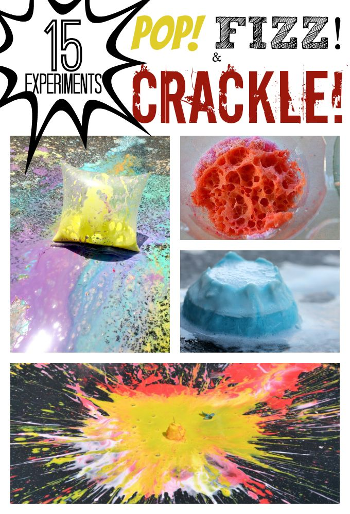 15 Science Experiments that POP, FIZZ and CRACKLE | Perfect for the 4th of July