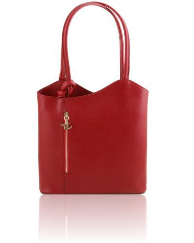 PATTY TL141455 Saffiano leather convertible bag