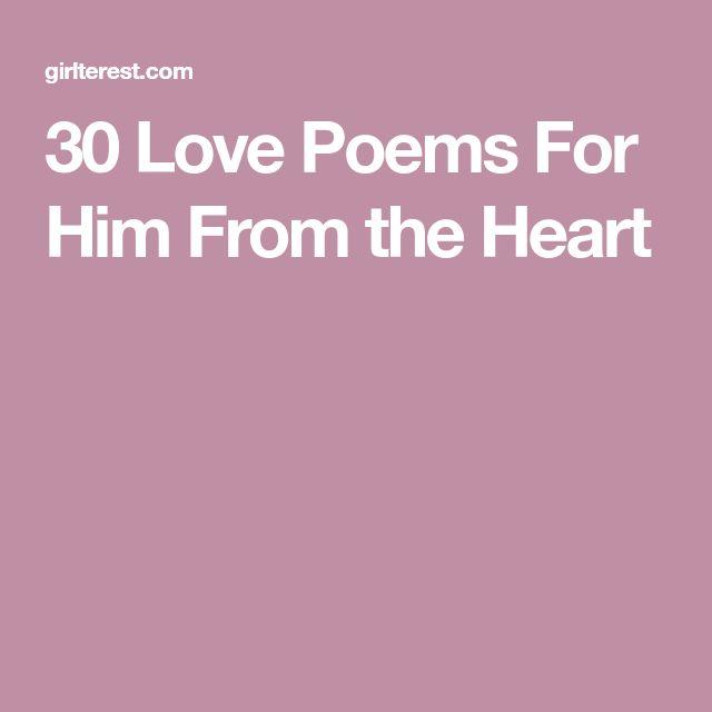 The 25+ best Birthday poems for him ideas on Pinterest | Love ...