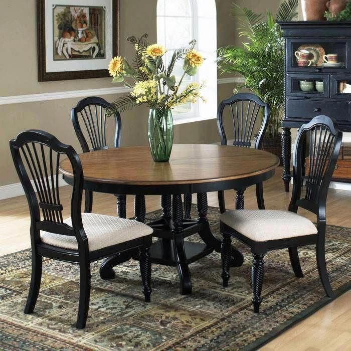 Receive Great Tips On Pub Set Ideas X They Are Actually Readily Available For You On Our Web Site Round Dining Room Round Wood Dining Table Black Dining Room