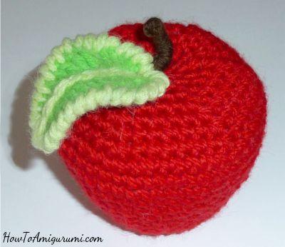 178 besten Crochet Apples Bilder auf Pinterest | Häkeln, Amigurumi ...