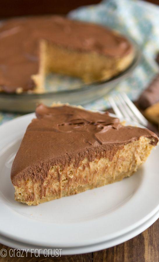 No-Bake Peanut Butter Twix Pie Recipe