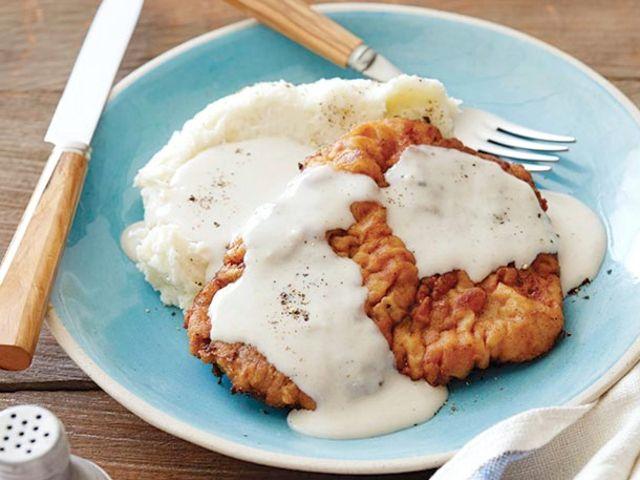 Chicken Fried Steak with Gravy Recipe : Ree Drummond : Food Network