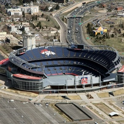Sports Authority Field at Mile High #Denver #Colorado