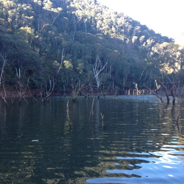 Beautiful Talbingo Dam, Australia.