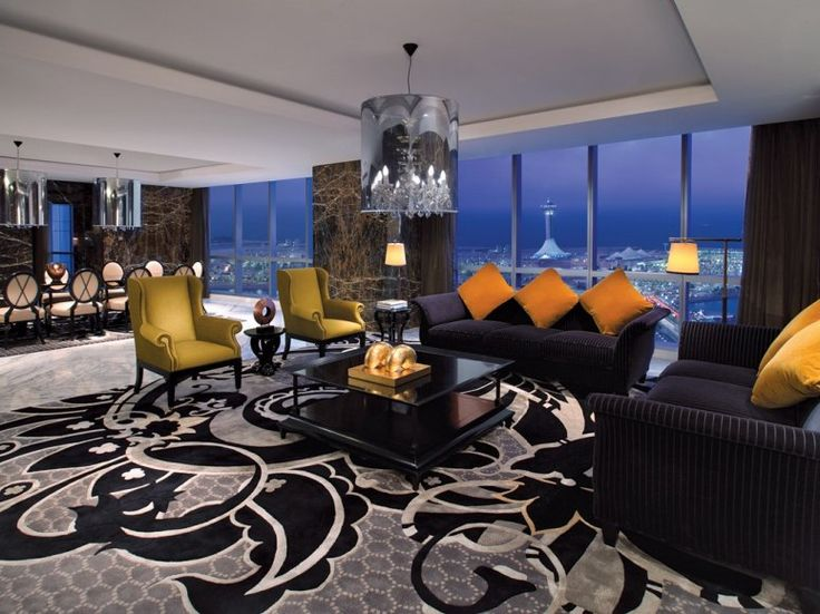 This hotel suite is $18,000 per night! Click through to see more incredible hotel suites around the world.