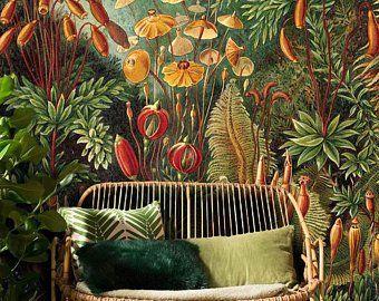 Amazonian Jungle Removable Wallpaper Repositionable Peel