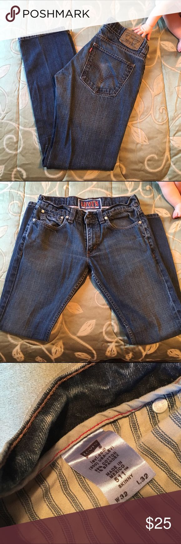 Levi's 511 Skinny Jeans 👖 Men's 511 Skinny Jeans Men's Levi's in great shape. No holes or stains. 32 x 32 Levi's Jeans Skinny