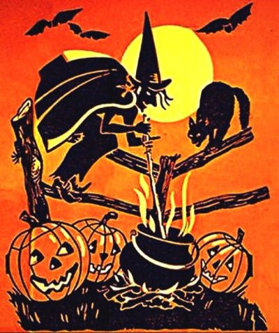 vintage halloween - Halloween Vintage Decorations