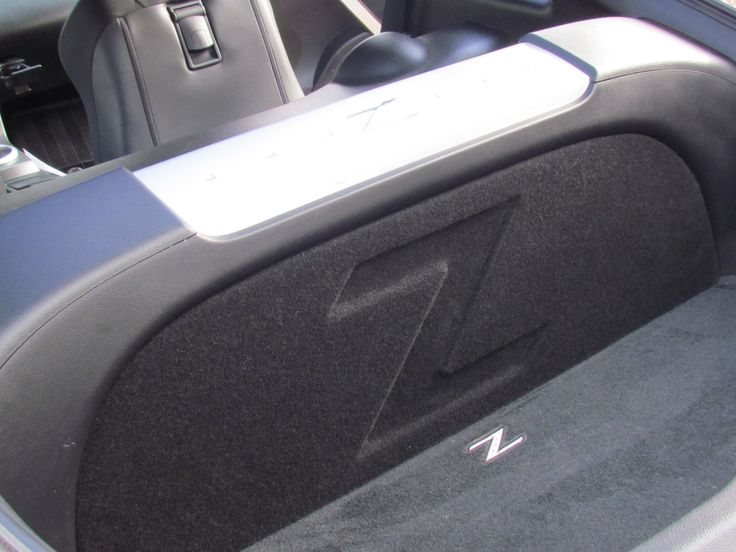 "Zenclosures Nissan 350z Subwoofer Box 1-10"" FRONT FIRE w/ Z LOGO. 350z Subwoofer Box."