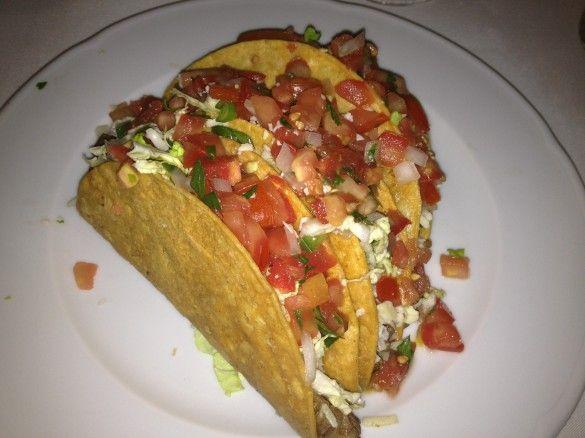 Filet Mignon tacos.